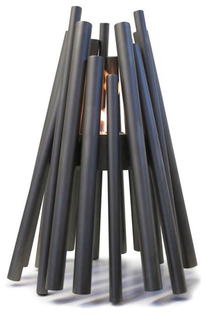 Stix Outdoor Fireplace modern-firepits