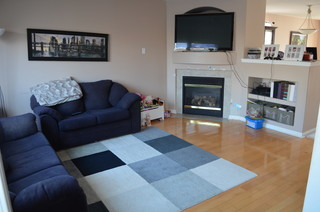 Redecorating family room furniture size placement for Redecorating living room ideas