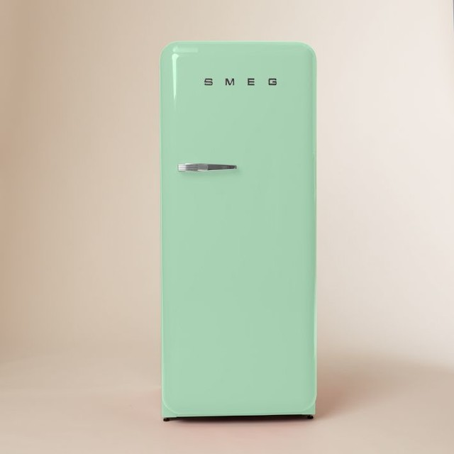 smeg refrigerator pastel green modern refrigerators by west elm. Black Bedroom Furniture Sets. Home Design Ideas