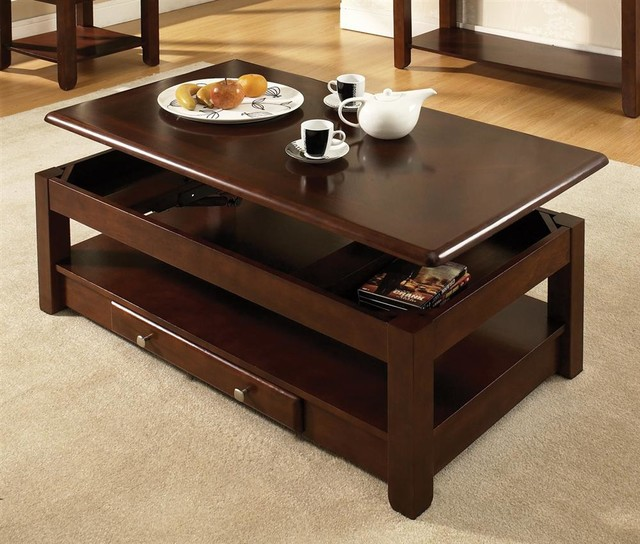 Nelson Lift Top Cocktail Table Oak Contemporary Coffee Tables By Shopladder