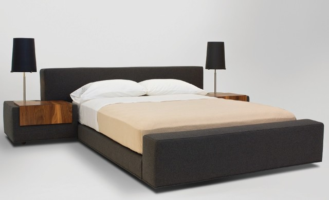 Zurich bed modern beds los angeles by vioski - Modern bed ...