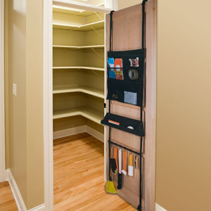 Over Door Organizer - 6 Compartments modern-cabinet-and-drawer-organizers