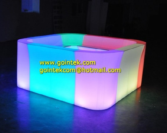 Rechargeable Battery And Illminated Led Furniture Counter -