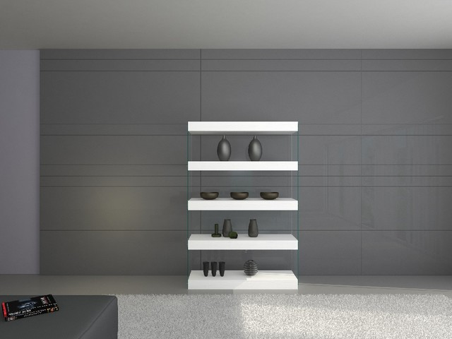 Cloud Curio Unit contemporary-buffets-and-sideboards
