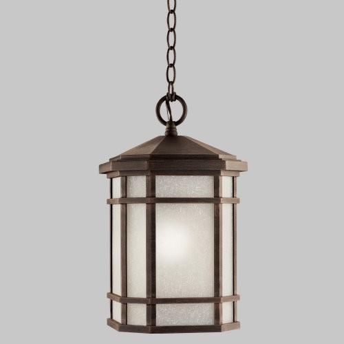 Kichler Cameron 9511PR Outdoor Ceiling - 10 in. - Prairie Rock modern-outdoor-lighting