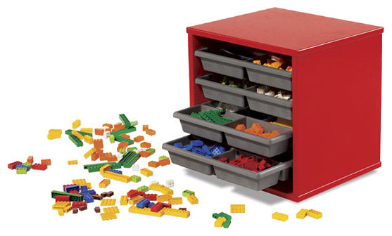 LEGO Storage Tray Unit Modern Toy Organizers By Amazon