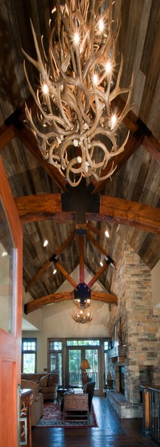 Amazing ceiling and beams rustic