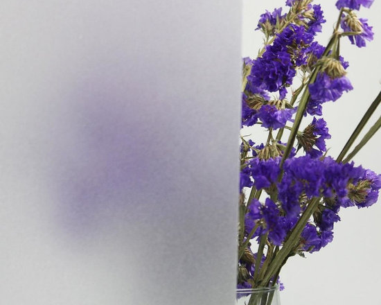 White Translucent Privacy Window Film For Bathroom - Instruction: