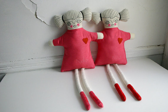 Custom Lovely Doll by Cara Carmina contemporary-kids-toys-and-games