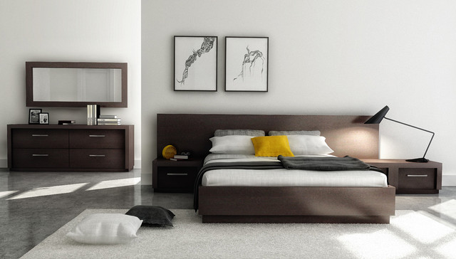 modern beds by Living Walls Furniture & Design