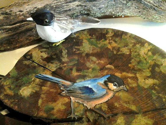 """""""CURIOUS BIRD"""" tropical"""