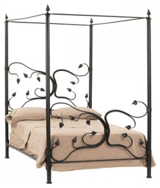 Full Size Fourposter Iron Beds