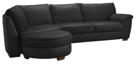 VRETA Corner sofa w end unit left modern-sofas