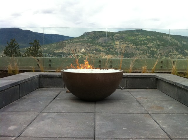 Outdoor Custom modern firepits