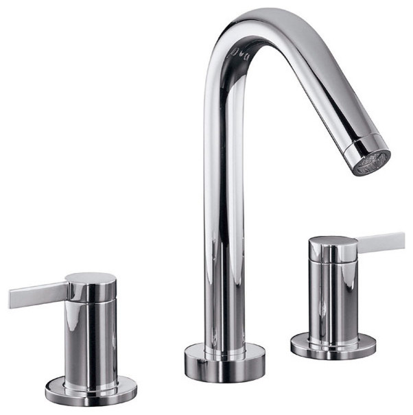 Kohler Stillness® Widespread Bathroom Faucet - modern - bathroom ...