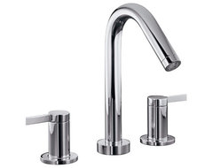Kohler Stillness® Widespread Bathroom Faucet modern-bathroom-faucets-and-showerheads