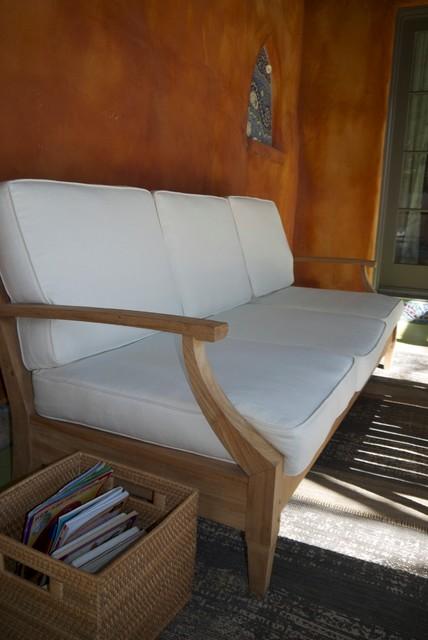 Natural Latex and Hemp Cushions rustic