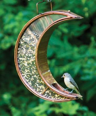Crescent Moon VB Feeder-114VB traditional-birdhouses