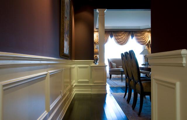 Crown/Cabinets/Mantel/Applique/Columns traditional-hall