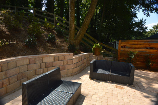 Highlands Haven traditional-patio