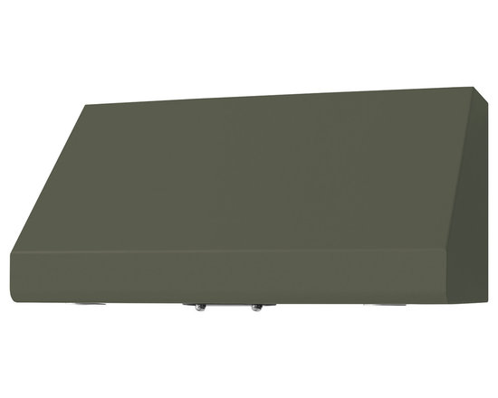 "36"" Prizer Incline Hood in Moss Grey (RAL 7003) - Moss Grey (RAL 7003)"