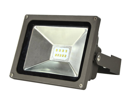 MaxLite - MLFL30LED50 MaxLite LED MaxLED Flood Light, 30 Watts Bronze - The LED Small Flood Lights are efficient, energy saving replacements for metal halide and quartz halogen fixtures. The fixtures can mount at a broad range of angles with a yoke-style arm.