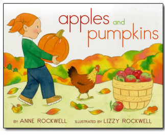 Apples and Pumpkins Paperback Book contemporary-baby-and-kids