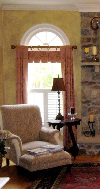 Arch Top Window Treatment Transitional Curtains Dc