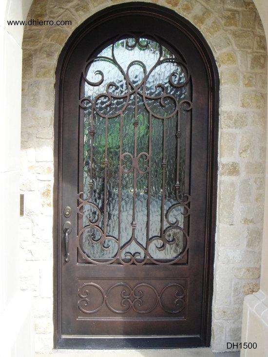 Iron Doors - Exterior - Single Iron Door