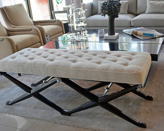 Showroom Pieces - Upholstered Double Bench