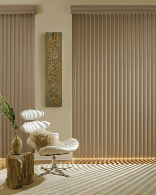 Hunter Douglas Vertical Blinds Contemporary Vertical Blinds Other Metro By Accent Window