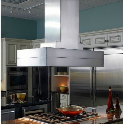 Vent-A-Hood 42W in. Contemporary Island Range Hood modern-range-hoods-and-vents