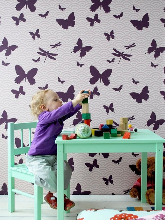 Ferm Living Butterflies Wallpaper - Ferm Butterflies Wallpaper