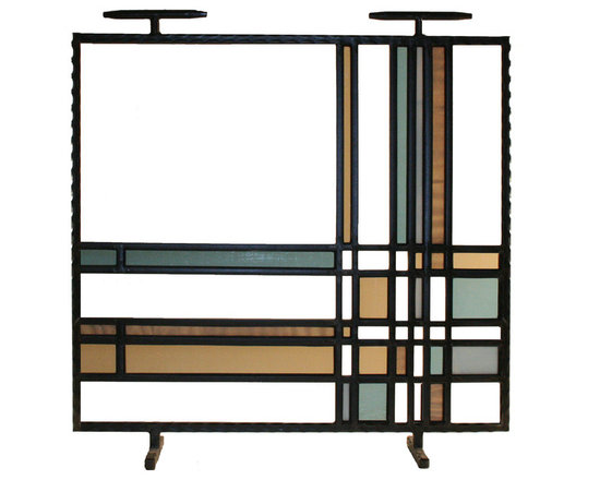 Philip Nimmo Fire Screens and Accessories - Graphico Fire Screen