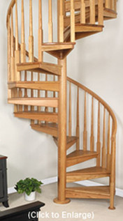 Spiral Stair Case Designs traditional