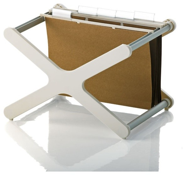 """XX"" Stacking File Holder - Contemporary - Filing Cabinets - by Panik Design"