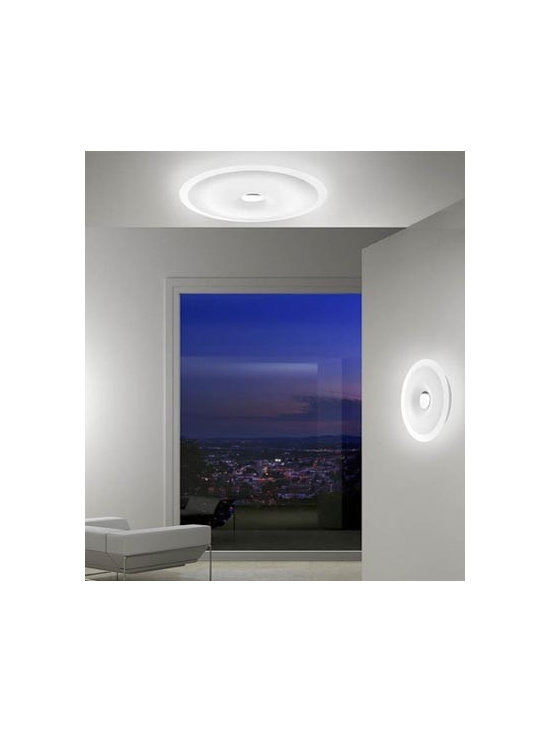 Planet Wall Lamp \ Sconce By Leucos Lighting - Planet by Leucos is a circular modern wall and ceiling light.