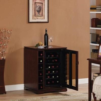 Tresanti Cabernet 18 Bottle Dual Zone Wine Cabinet ...
