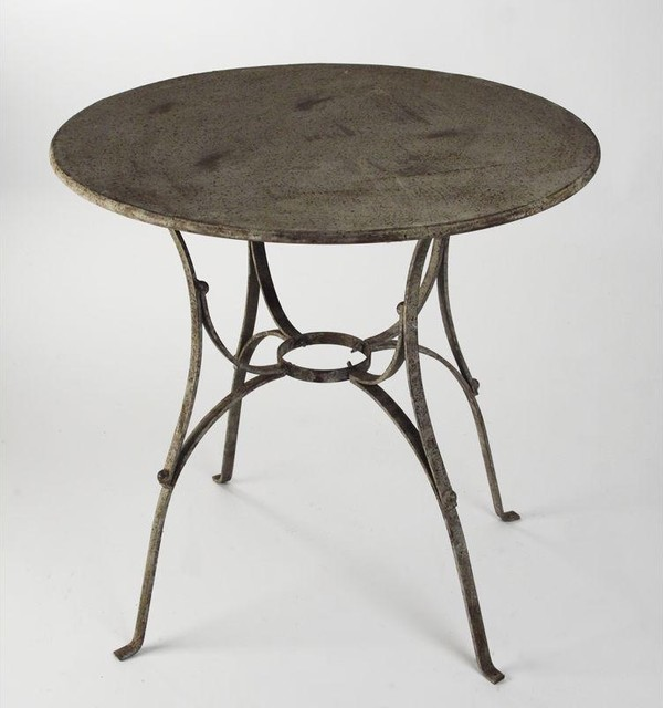 Zentique Metal Table-Round traditional-side-tables-and-end-tables