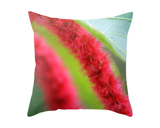 """BACK to BASICS - Tropical Flower II Abstract Pillow Cover, 20x20 - Throw Pillow Cover made from 100% spun polyester poplin fabric, a stylish statement that will liven up any room. Individually cut and sewn by hand, the pillow cover measures 16"""" x 16"""", 18"""" x 18"""" or 20"""" x 20"""" depending on the size you choose, features a double-sided print and is finished with a concealed zipper for ease of care."""