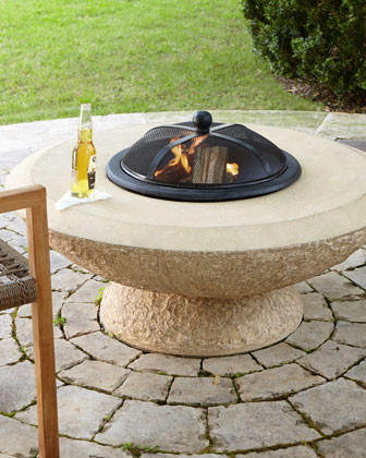 Stonecast Fire Pit traditional-fire-pits