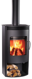 Rais Gabo Wood Stove Eclectic Freestanding Stoves By