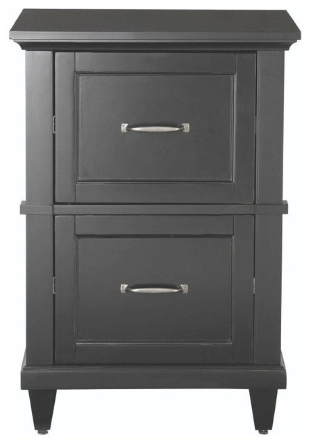 Home Decorators Collection File & Storage Cabinets Martin 2-Drawer Wood File - Contemporary ...