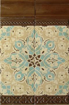 Patterson Encaustic ~ Filmore Clark eclectic-tile