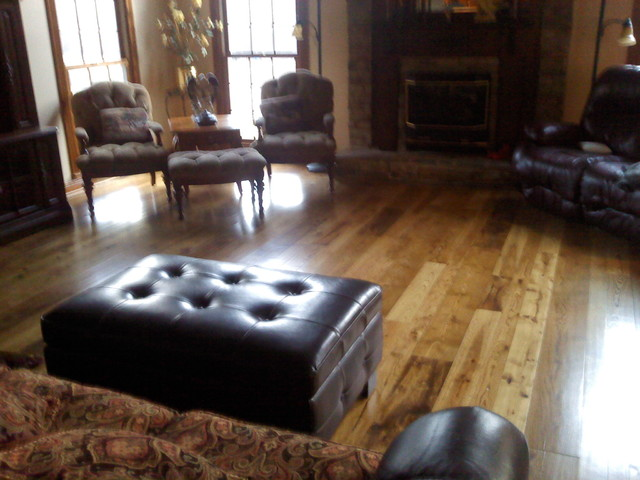 Created By River Bottom Pine Flooring eclectic-hardwood-flooring