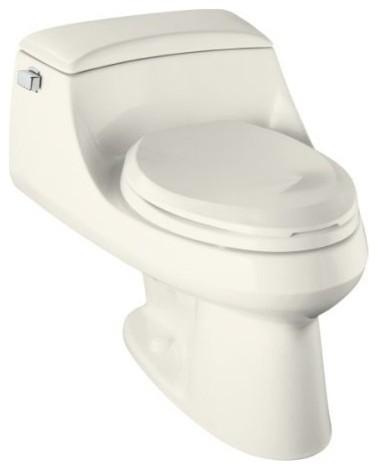 Kohler K-3466-96 Biscuit San Raphael San Raphael One-Piece Elongated contemporary-toilet-accessories