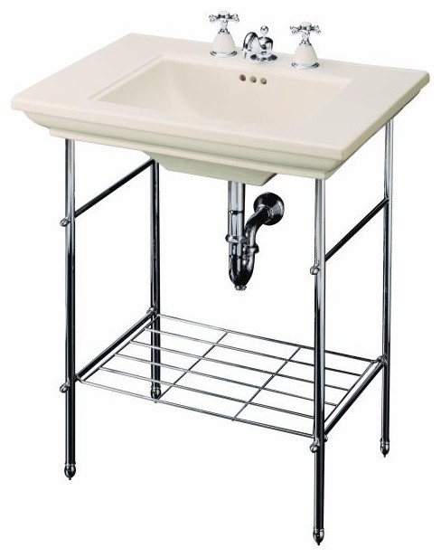 Memoirs Table Legs - traditional - bathroom vanities and sink