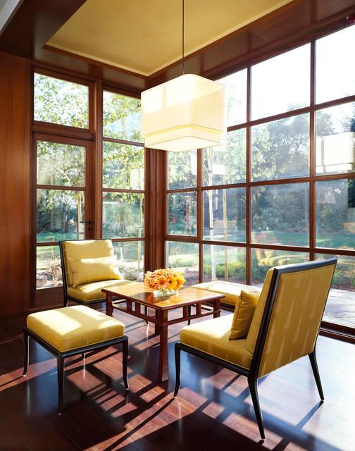 Atherton Estate contemporary-porch