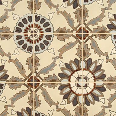 Kibak Ceramic Art Tile - Ann Sacks Tile & Stone eclectic-tile