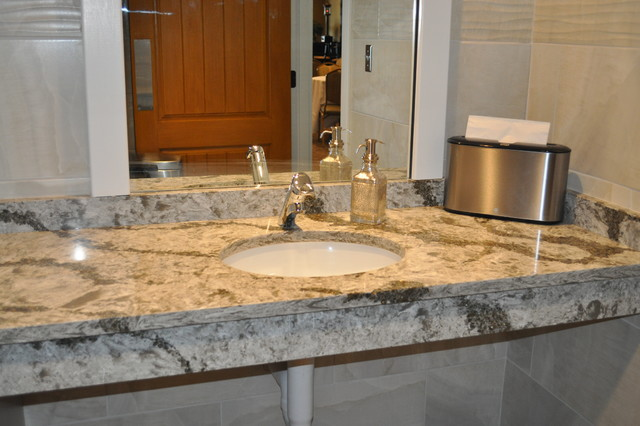Cambria - Bathroom Vanity Tops for Two Rivers Restaurant ...